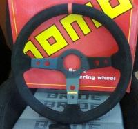 Спортивный руль MOMO (замша) GT-5130